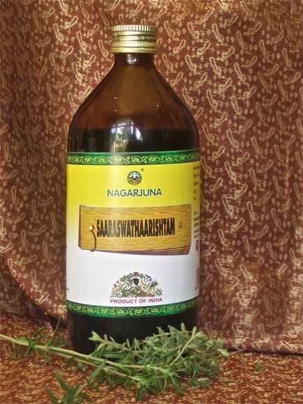 Saaraswathaarishtam 450ml Memory, enhances Brain function